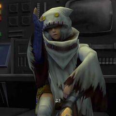 Yuffie in <i>Dirge of Cerberus</i>.