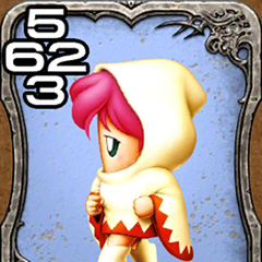 Lenna as a White Mage.