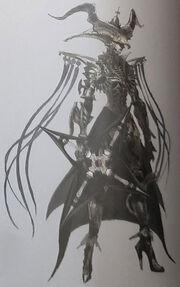 Crepera, the Rogue Artwork