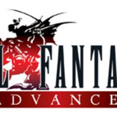Логотип <i>Final Fantasy VI Advance</i>.