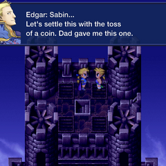Edgar speaks of the coin toss (iOS).