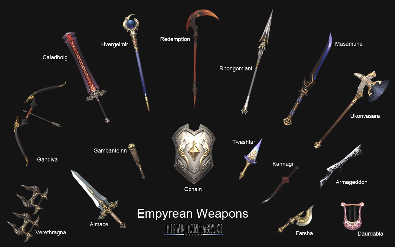 Empyrean Weapon Final Fantasy Wiki Fandom Powered By Wikia