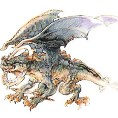 Concept art of Ring Wyrm.