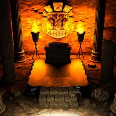 Temple entrance.