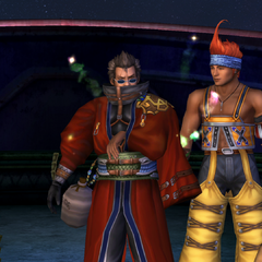 Auron in the ending.
