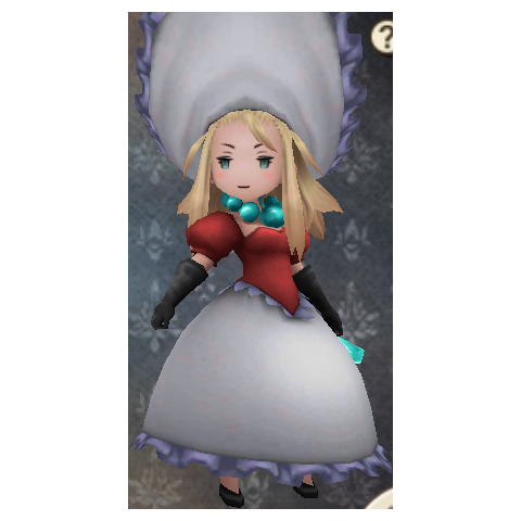 Edea as a Merchant.