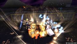 Dissidia Zidane Tidal Flame