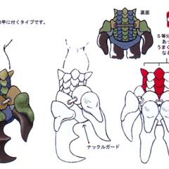 Concept art in <i>Final Fantasy IX</i>.