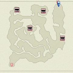 Mapa da Caverna da Névoa(DS).