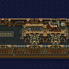 Magitek Armor Transport Ship (SNES).