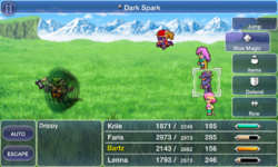 FFV iOS Dark Spark