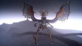 FFXIV-XV Garuda Full Appearance