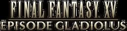 FFXV Episode Gladiolus Logo