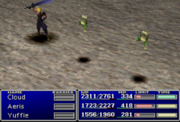 Final Fantasy VII Frog Status