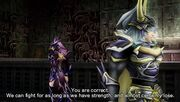 Kain and Light Dissidia 012 English