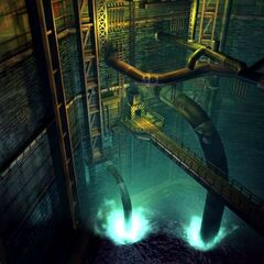 Mako Reactor in Midgar.