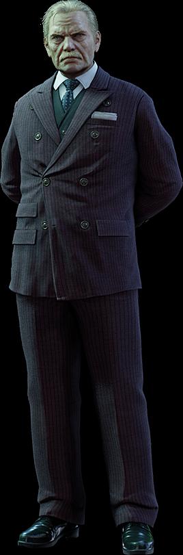 President Shinra FFVII Remake render
