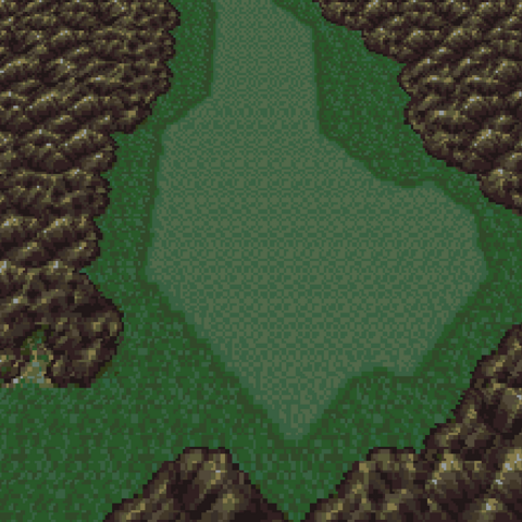 The Sabre Mountains (SNES).