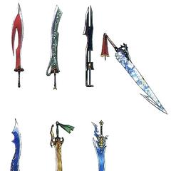 Espadas de Tidus.