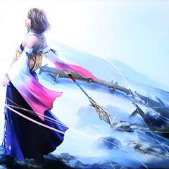 Tidus and Yuna artwork for the Typhon Haiyan relief effort.