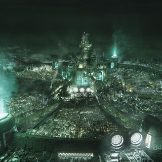Shinra Headquarters amidst greater <a href=