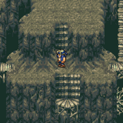 Inside the Esper Caves (GBA).