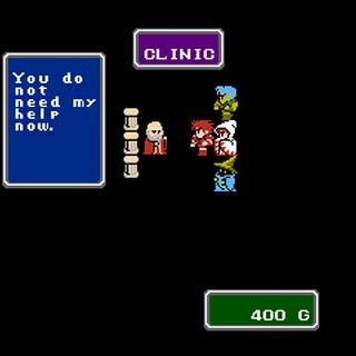 Clinic (North American NES).