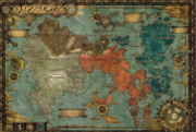 Oriense World Map