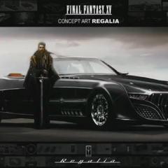 Regis e o carro, Regalia.