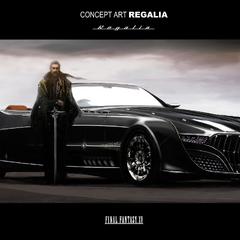 Регис и его машина Регалия.