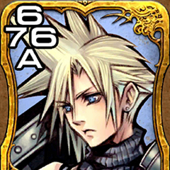 Cloud from <i>Dissidia Final Fantasy</i>.