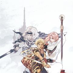 Arte da capa da novelização por Akira Oguro.