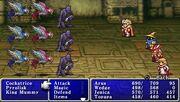 FF1 batalha no PSP