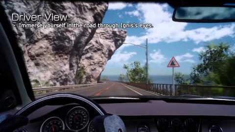 FINAL FANTASY XV – Driving Gameplay Video