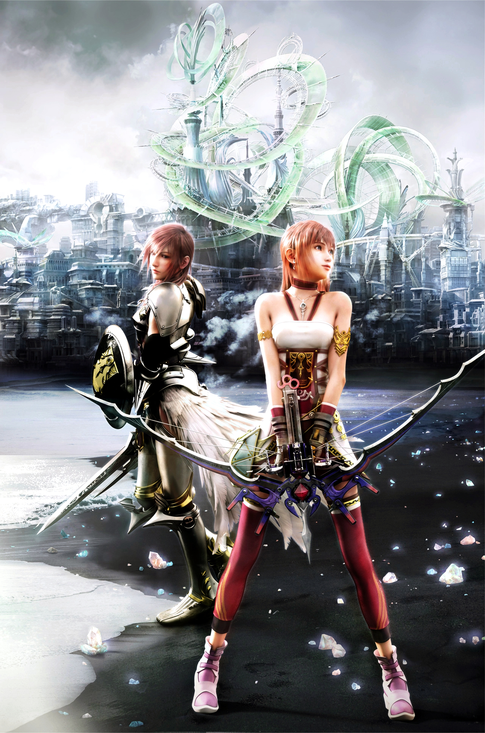 story of final fantasy xiii 2 final fantasy wiki fandom powered