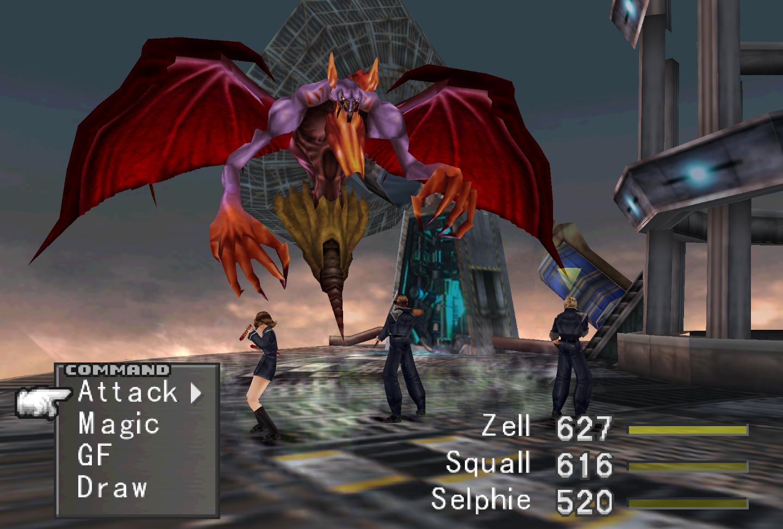 Image result for final fantasy 8 remastered combat