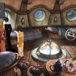 Moomba music box in Shumi Village inn in <i>Final Fantasy VIII</i>.