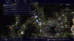 Taelpar Crag almanac location map from FFXV