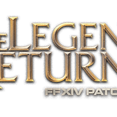 Patch 4.1 <i>The Legend Returns</i> logo