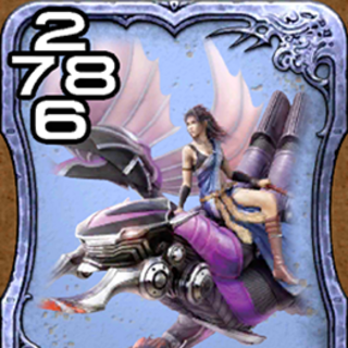 Бахамут и Фанг из <i>Final Fantasy XIII</i>.
