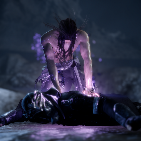 Ardyn daemonifies his first victim.