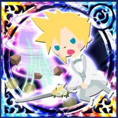 Crystal Assist Cloud Legend card for June Bride.