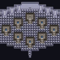 Babil crystal room.