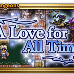 A Love For All Time banner.