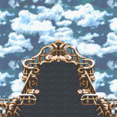 Battle background (Airship) (GBA).