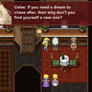 Celes and Setzer (iOS/Android/PC).