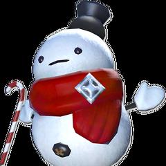 Hoary the Snowman.