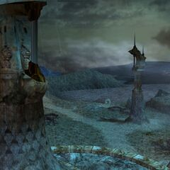 Thunder plains in <i>Final Fantasy X</i>.