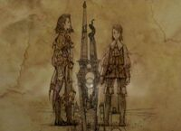 Vayne and Larsa (artwork)