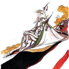 Arte por Yoshitaka Amano.